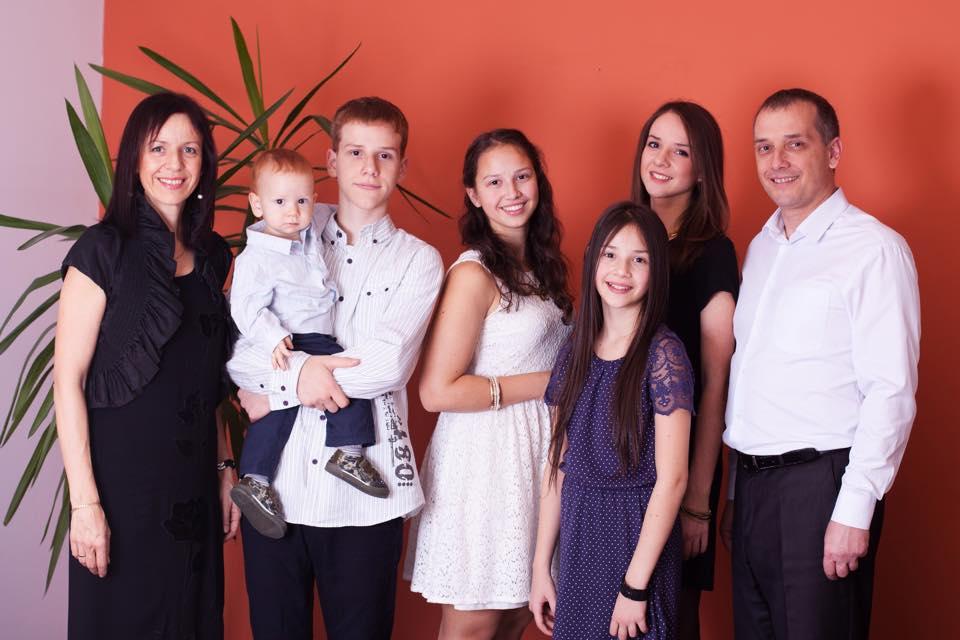 еписком Леонид Вороненко с семьей