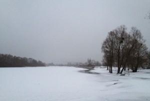 Река Березина около Светлогорска