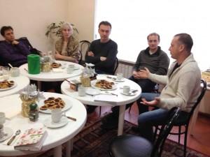 """Общение с лидерами церкви """"Царства Божьего"""""""