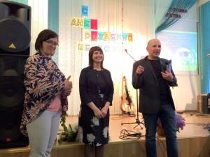 Пастор Дмитрий Зеленский с супругой Мариной