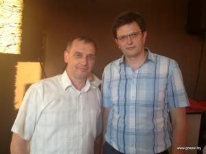 Епископ Леонид Вороненко и пастор Андрей Гринкевич