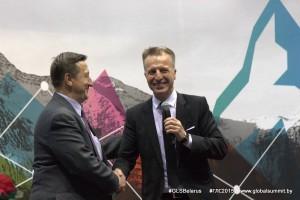 Виктор Крутько и Юрий Карманович